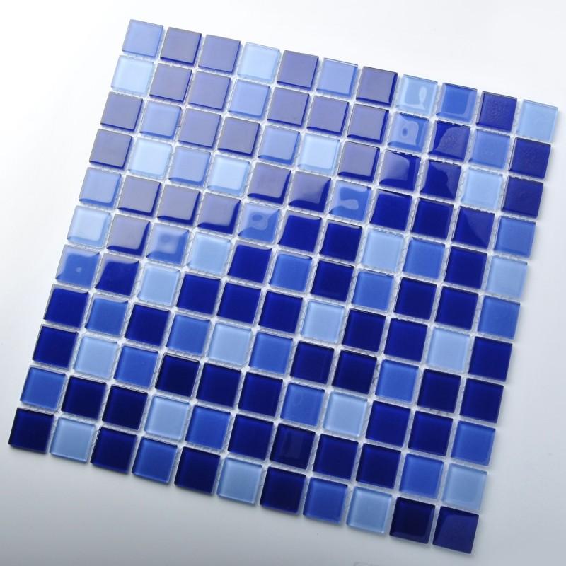 tst crystal glass tiles dark blue gorgeous ocean fashion