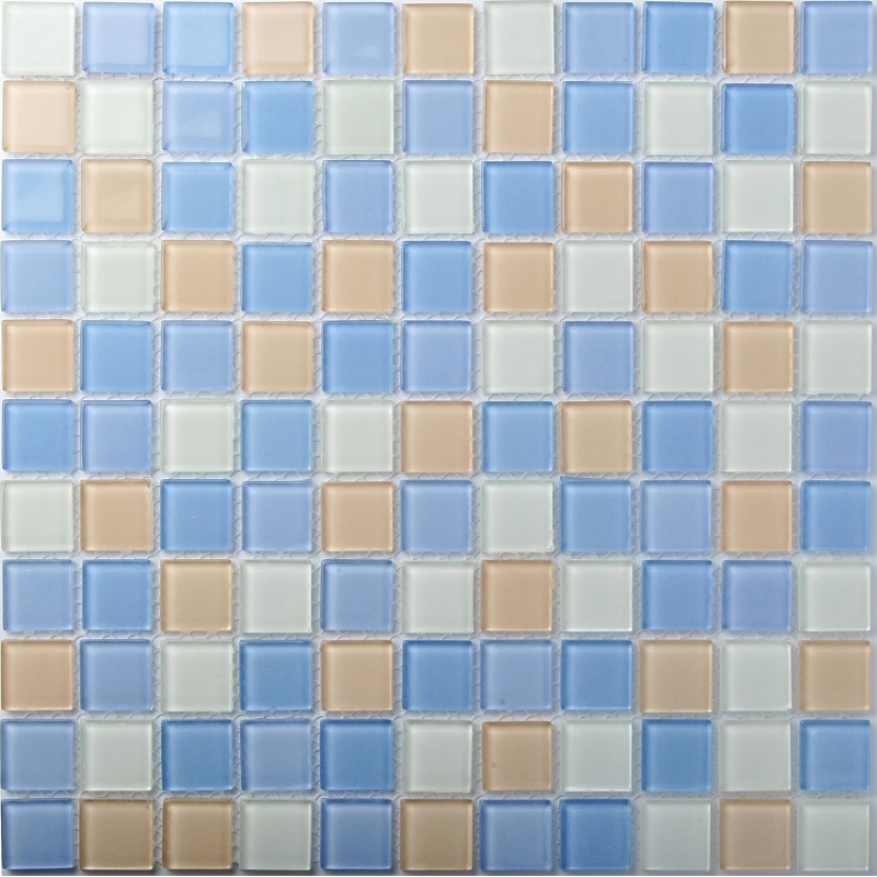 TST Crystal Glass Tiles Unique Mosaic Glass Tile Kitchen Bath Shower ...