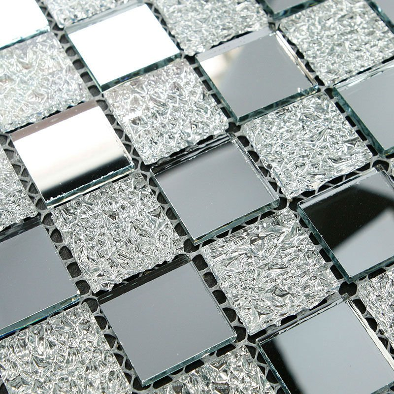 tst crystal glass tiles glass mosaic tile sheets inner twinkling kitchen backsplash home and hotel decor - Floor And Decor Backsplash