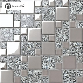 TST Crystal Glass Tile Zebra Design Innovation Bathroom Wall Fireplace Glass  Tile Backsplash Art Part 58