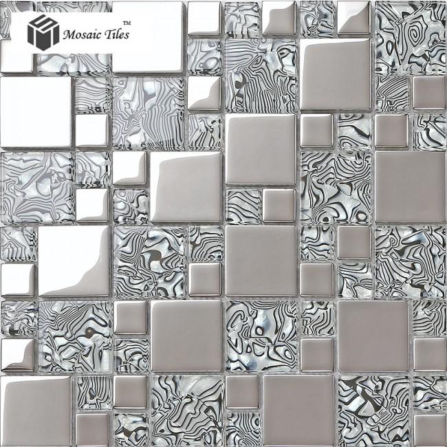 21 Best Images About Frosted Glass Tile Kitchen On: TST Crystal Glass Tile Zebra Design Innovation Bathroom