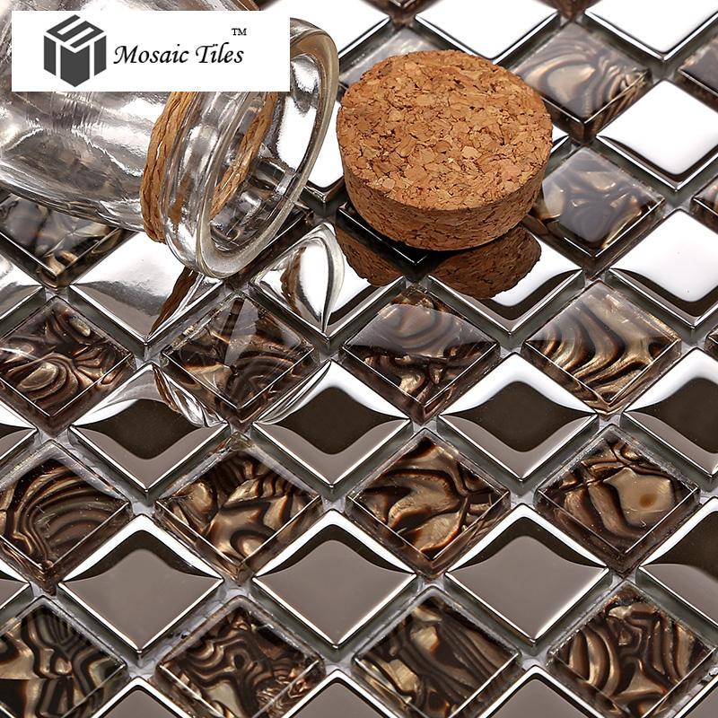 ... TST Crystal Glass Tile Amazing Glass Mosaics Tile Kitchen Backsplash  New Ideas TSTGT236 ...