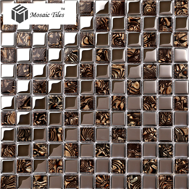 Glass Mosaic Tile Kitchen Backsplash Ideas Part - 47: TST Crystal Glass Tile Amazing Glass Mosaics Tile Kitchen Backsplash New  Ideas TSTGT236 ...