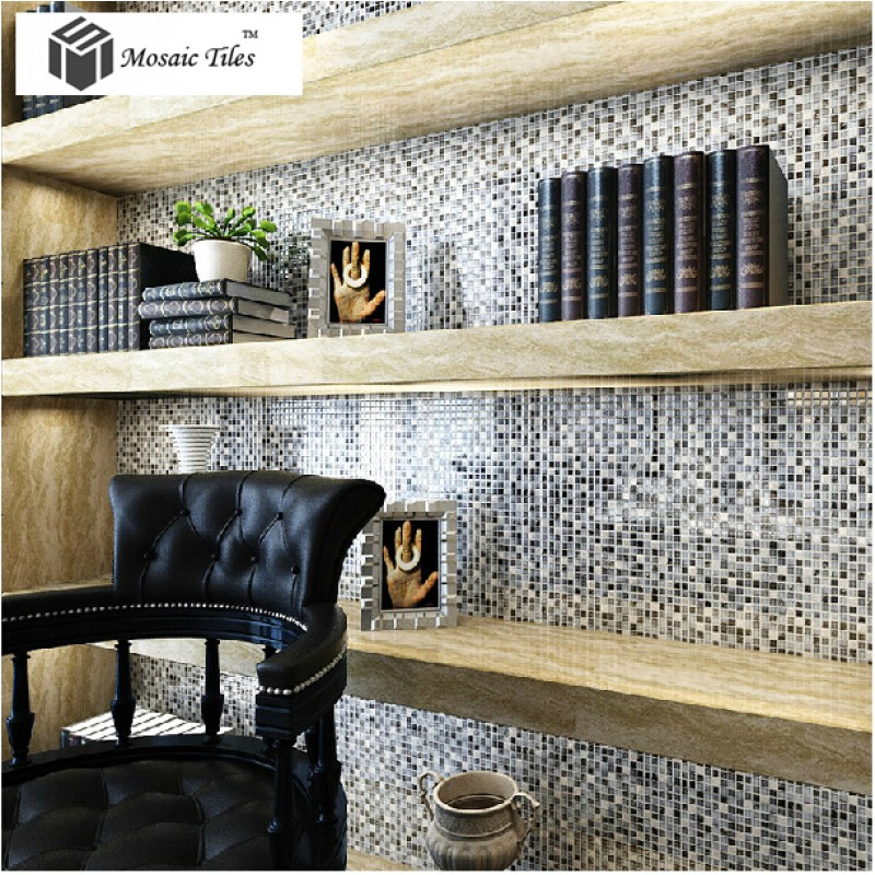 tst glass conch tiles dark blue glass tiles bathroom squared kitchen tile backsplash ideas tstgt240 - Glass Tile Backsplash In Bathroom