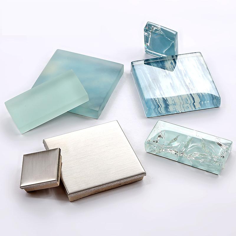 ... TST Glass Metal Tile Sea Blue Aqua White Kitchen Bath Backsplash Mosaic  TSTMGB028 ...