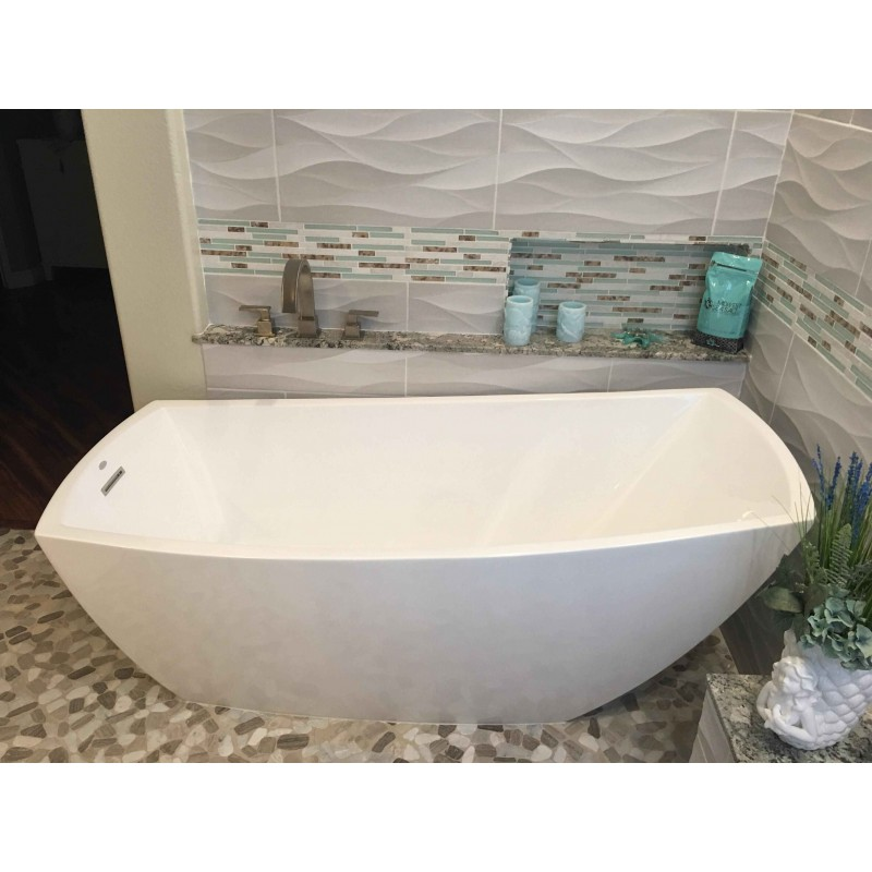 ... TST Sea Green Glass Conch Beach Style Tile White Stone Kitchen  Backsplash Bathroom Wall Art TSTMGT084 ...