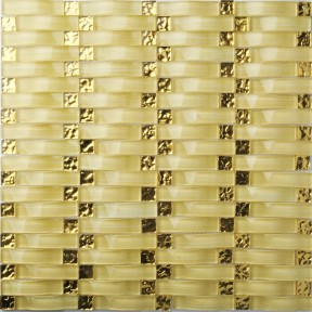 TST Glass Bridge Golden Arch Glass Background Kitchen Tile
