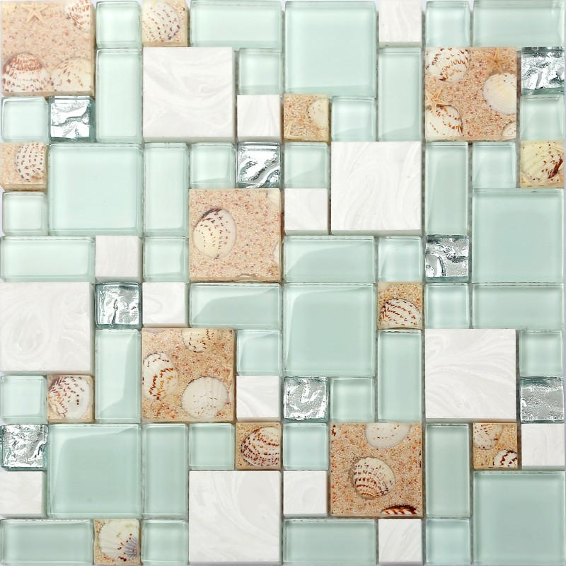 Green Lake Gl Tile Beach Style Mother Of Pearl Inner Acrylic