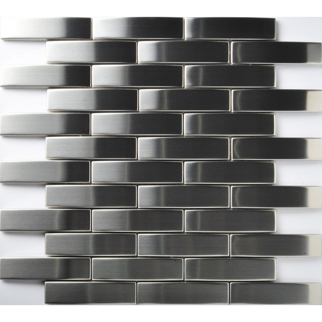 TST Stainless Steel Tiles Silver Stainless Steel Mosaic Tile Home Remodeling Art Ideas Deco
