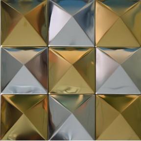 Decorative Wall Tile pyramid metal tiles