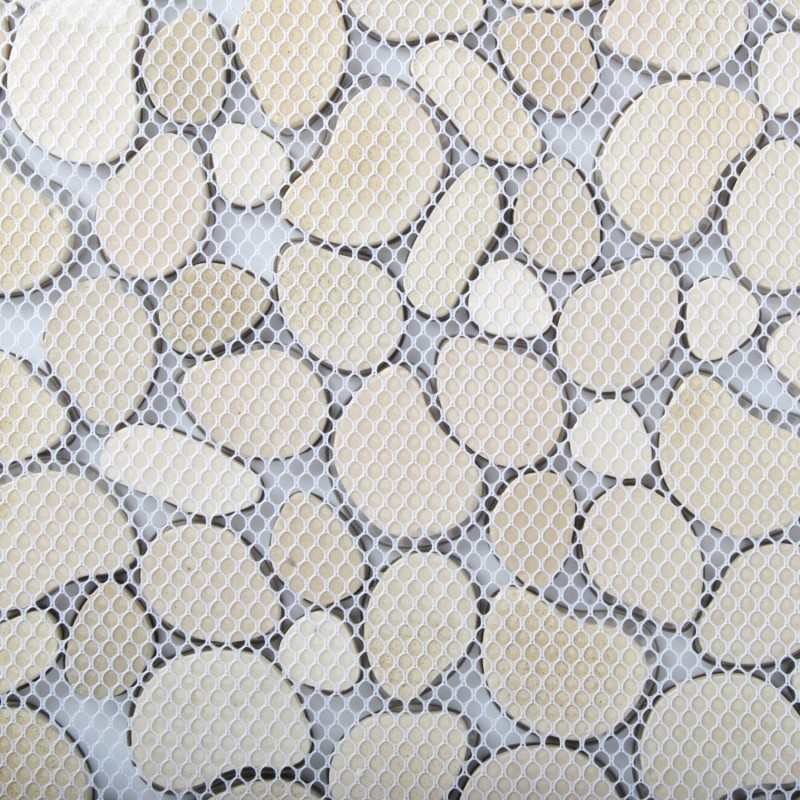 stainless steel wall decorations stainless steel metal pebbles mosaic tile silver irregular chips
