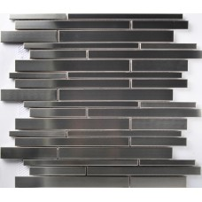 TST Stainless Steel Mosaic Tile Silver Mirrored Tiles Industrial Styles Kitchen Backsplash Tiles Home Decor