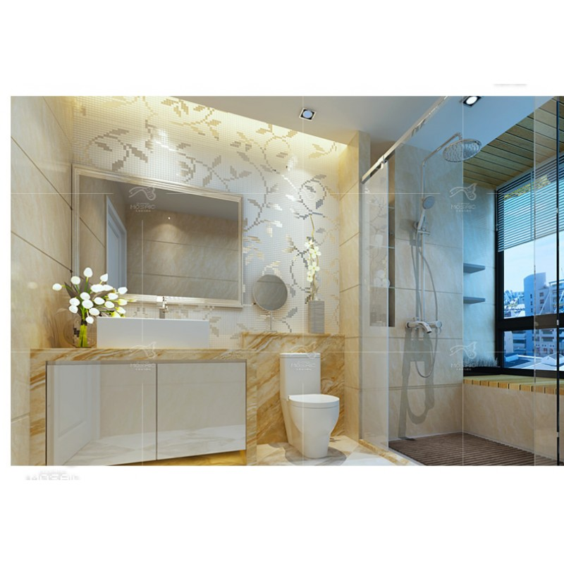 New Erfly Flower Vine Bathroom Wall Decals Art Home Decoration Stickers For Toilet Removable Diy Vinyl