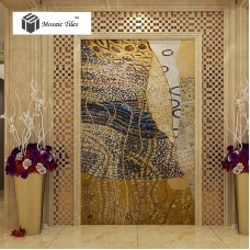 TST Mosaic Murals Parquet Art Mosaic Abstract Painting Hallway Entrance Deco Mosaics