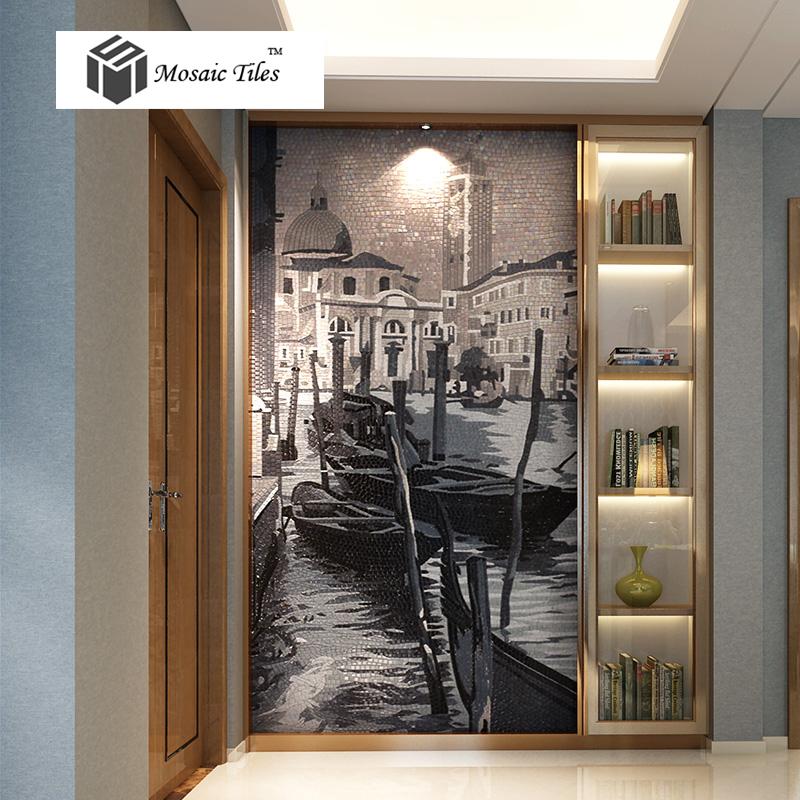 Art Deco Interior Design Kitchen: TST Mosaic Murals Parquet Famous Painting Venice Beautiful