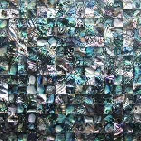 TST Abalone Shell Mother Of Pearl Tile Impressionistic Deapwater Seashell Pad For Bathroom Deco