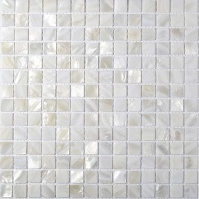 tst mother of pearl tiles white squared chips natural iridescent finish