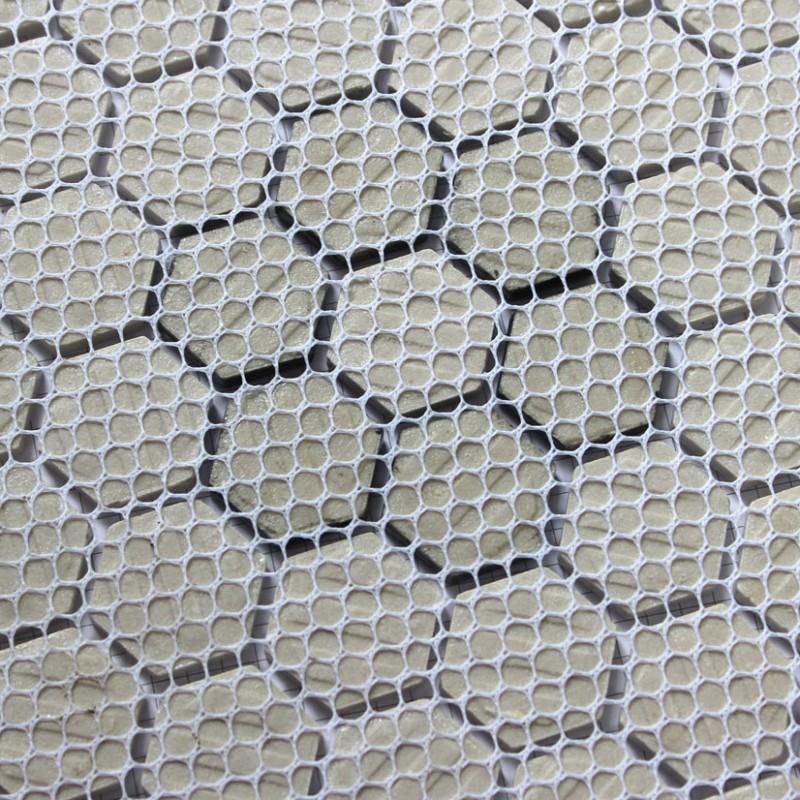 Hexagon Mosaics Tiles Black and White Parquet Puzzle Tiles