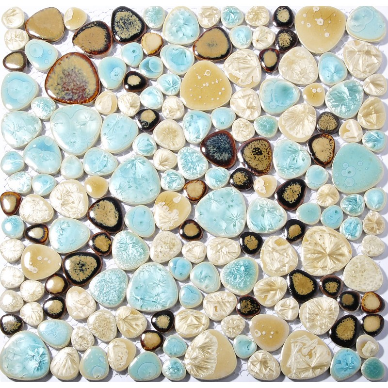 Tst Porcelain Pebbles Beautiful Fambe Bathroom Floor