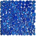 TST Porcelain Pebbles Deep Blue Chips Fambe Bathroom Floor Swimming Pool Interior Design