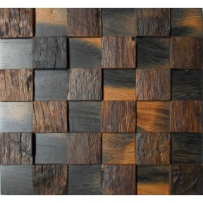 TST Wooden Squared  Tiles Rustic Wooden Tiles for Wall Southwestern Home Decor