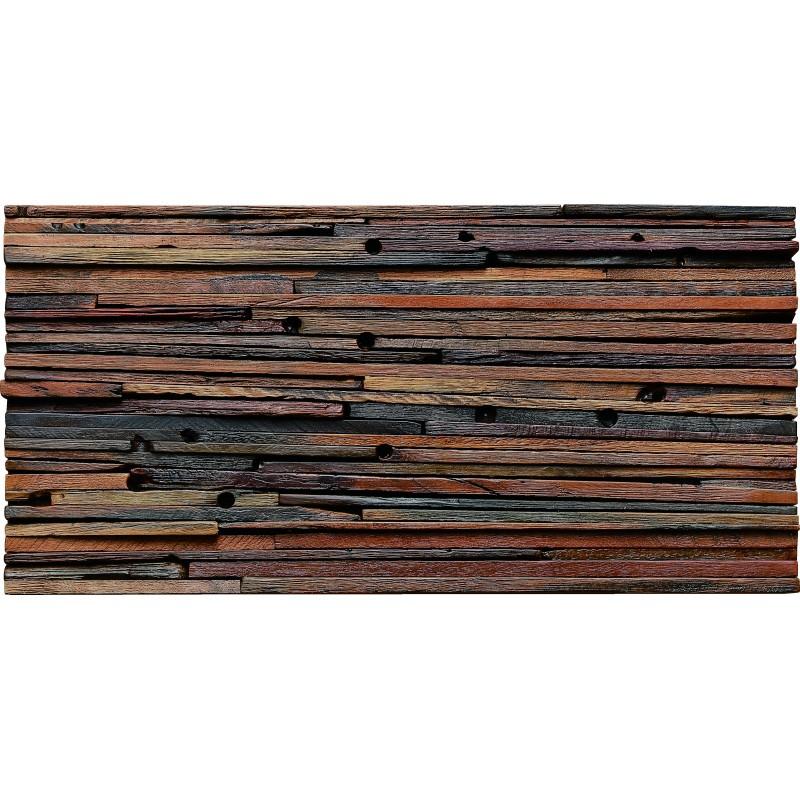 aligned wooden panels