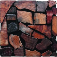 TST  Irregular Tiles Wooden Mosaic Panel Wall Unique Remodeling mosaic Art