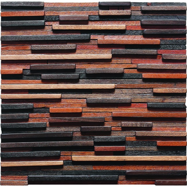 TST  Irregular Tiles Mosaic  Wall Panel Deco Strips Designed Remodeling Tiles
