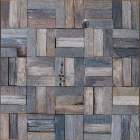 TST Wooden Squared  Tiles Archaistic Rustic Wooden Tiles for Wall Awesome Kitchen Backsplash Tiles
