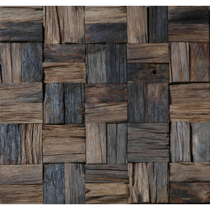 tst wooden squared tiles archaistic wooden tiles for wall. Black Bedroom Furniture Sets. Home Design Ideas