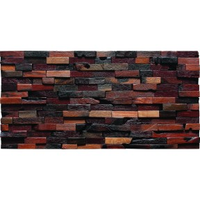 TST Aligned Wooden Panel Wall Deco Strips Designed Wild Style Study Shop Remodeling Tile