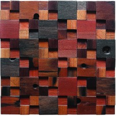 TST Irregular Tiles Colorful Wall Nail Holes and Squared Grids  Geometrical Deco Tile